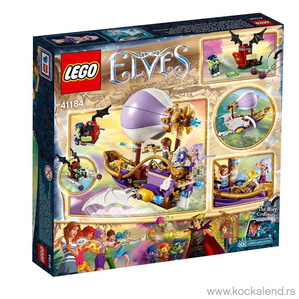 LEGO VILENJACI AIRA'S AIRSHIP & THE AMULET