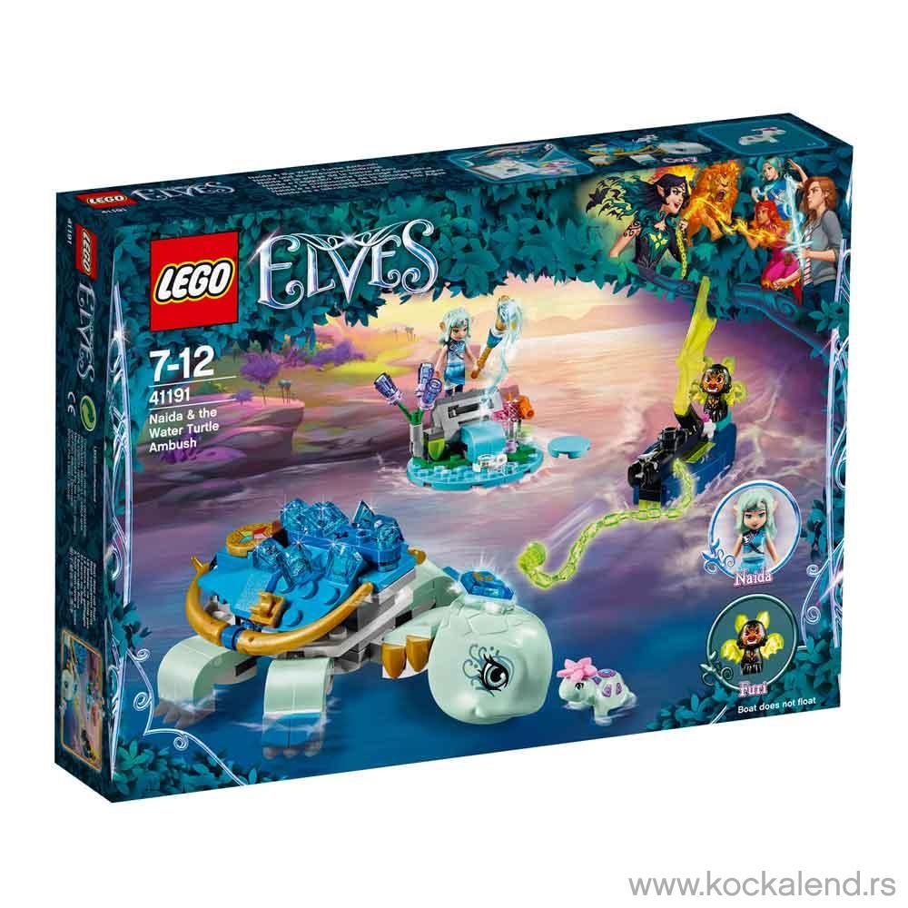 LEGO VILENJACI NADIA & WATER TURTLE AMBUSH