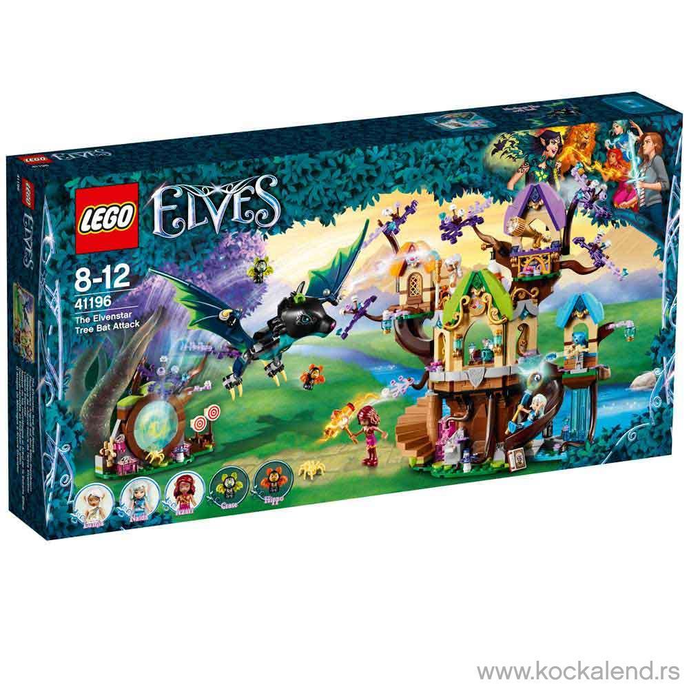 LEGO VILENJACI THE ELVENSTAR TREE BAT ATTACK