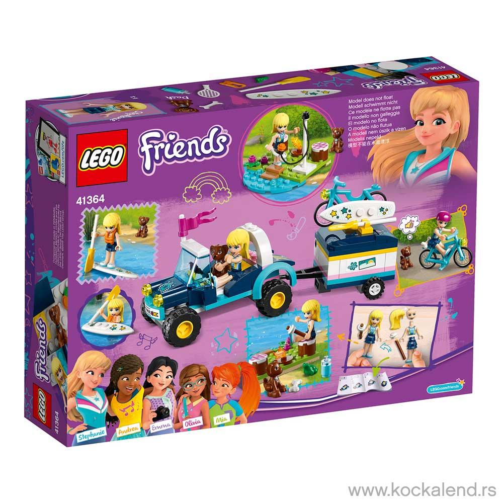 LEGO FRIENDS STEPHANIE S BUGGY   TRAILER