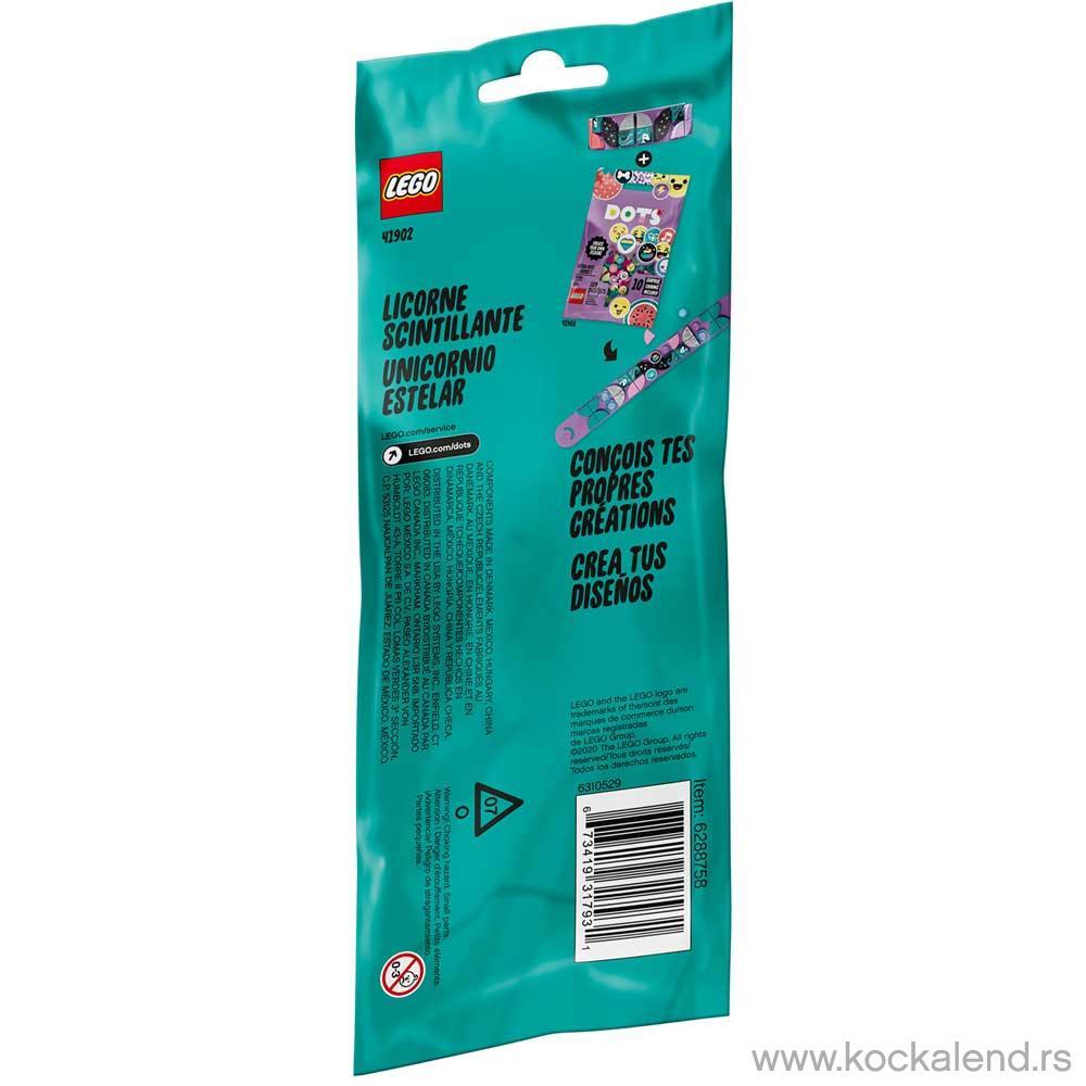 LEGO DOTS SPARKLY UNICORN BRACELET