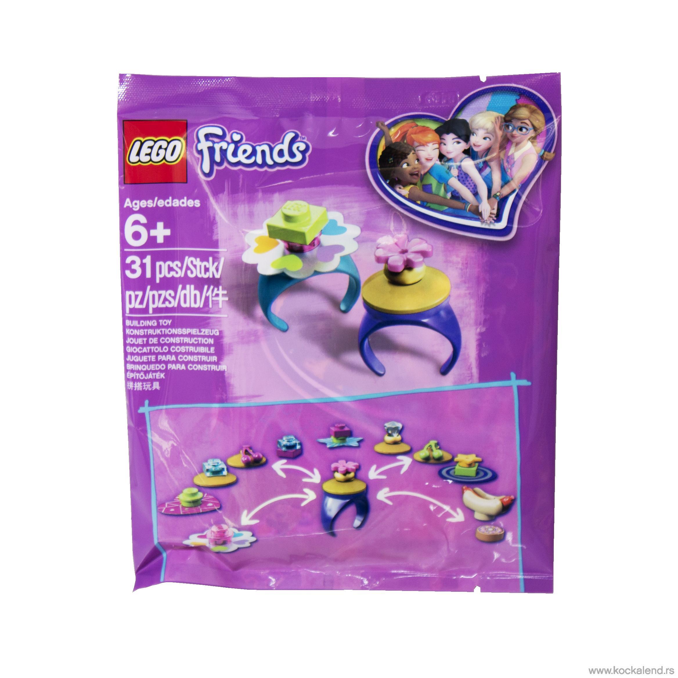LEGO FRIENDS RINGS KESICE