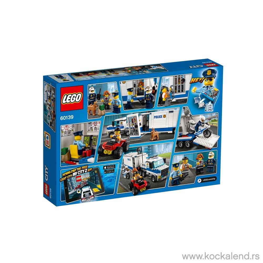 LEGO CITY MOBILE COMMAND CENTER