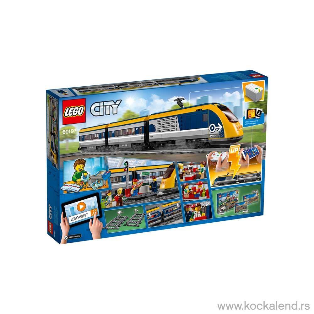 LEGO CITY PUTNICKI VOZ
