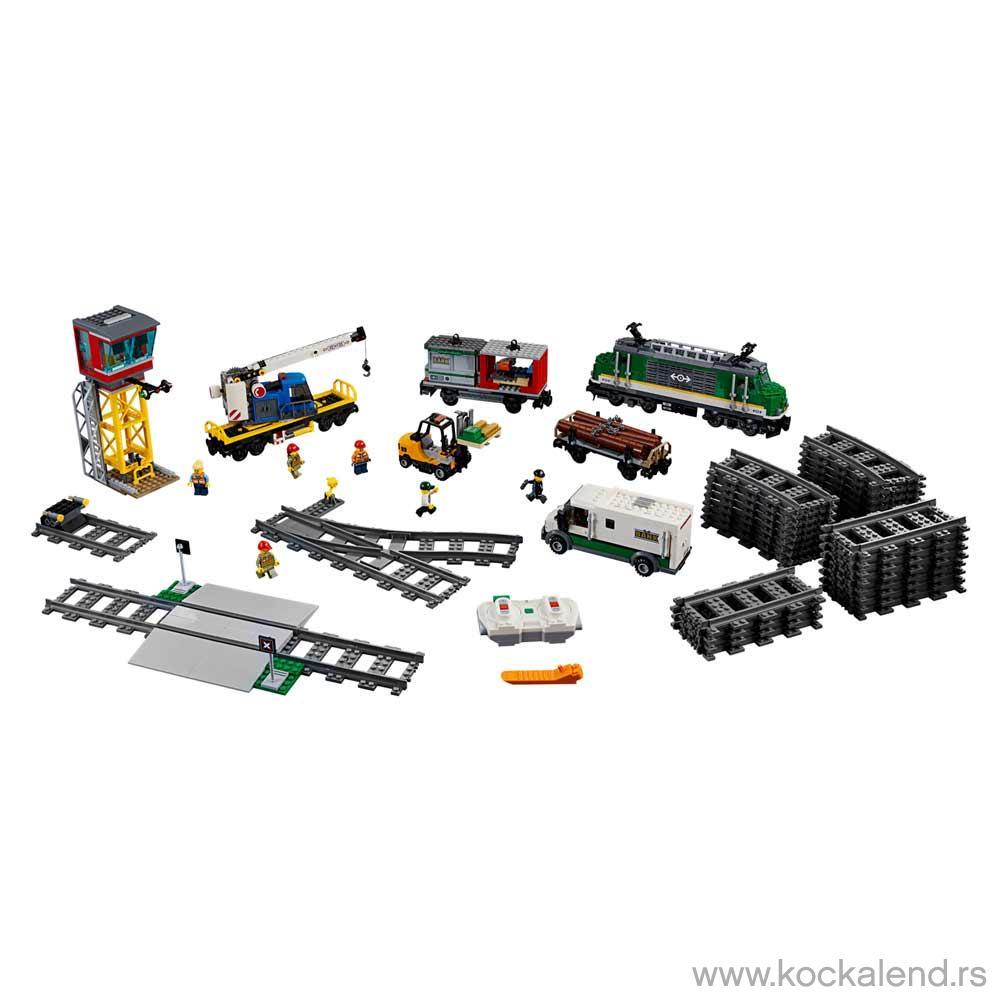 LEGO CITY TERETNI VOZ