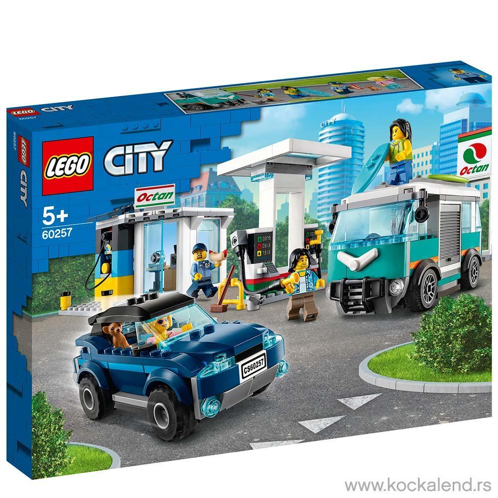 LEGO CITY TURBO WHEELS SERVICE STATION