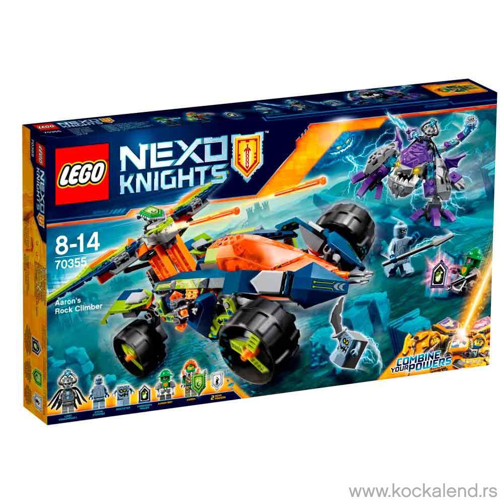 LEGO NEXO KNIGHTS AARON'S ROCK CLIMBER