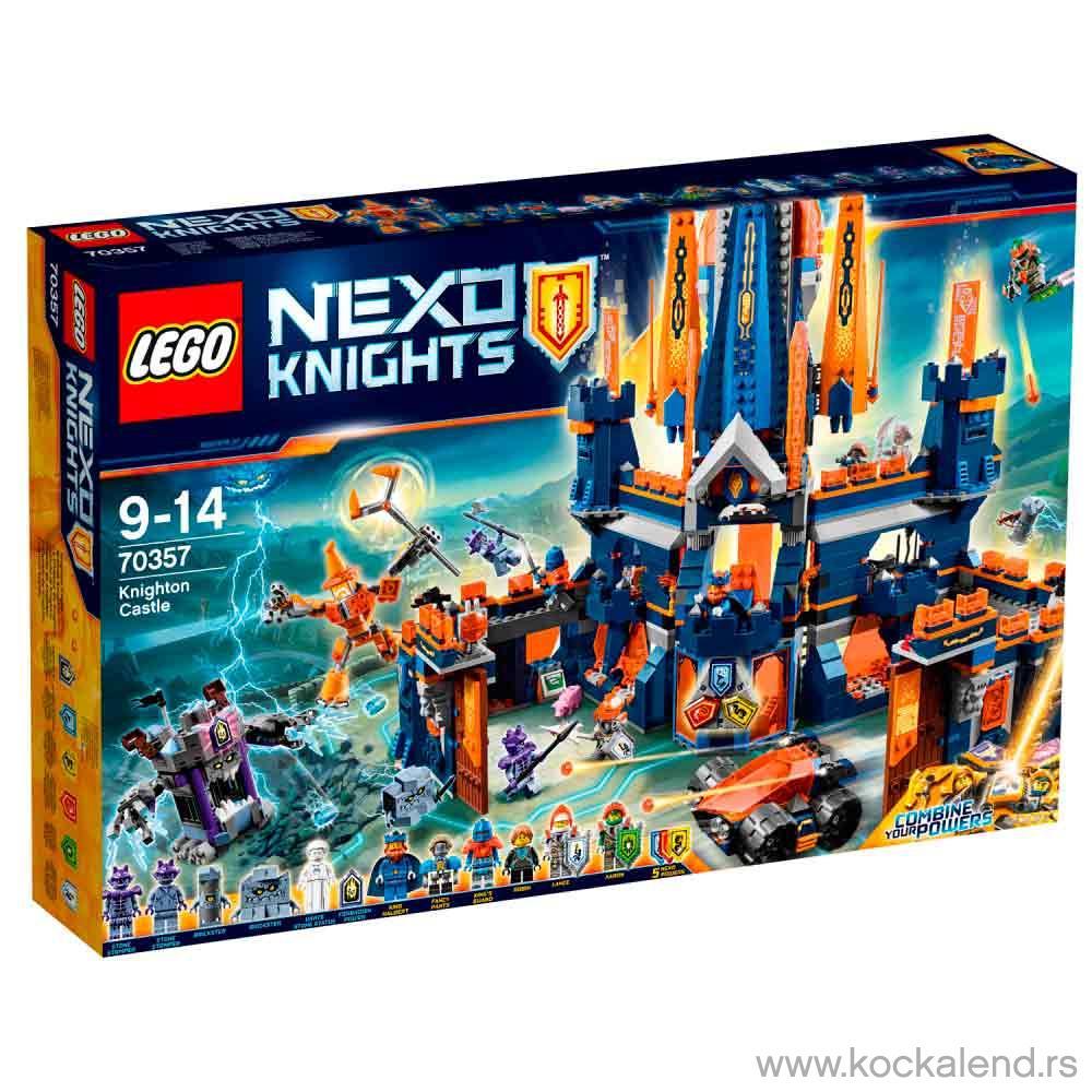 LEGO NEXO KNIGHTS KNIGHTON CASTLE