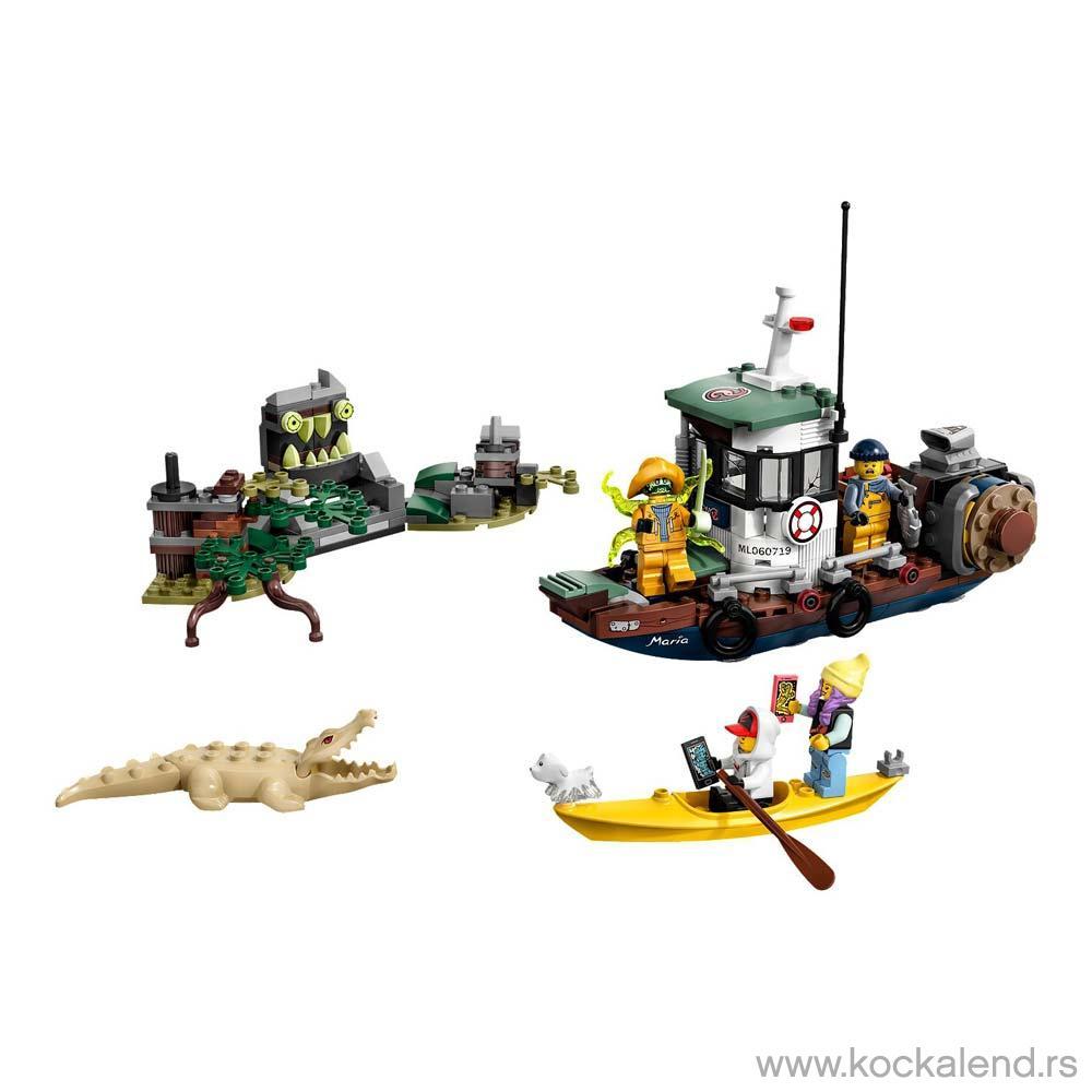 LEGO HIDDEN SIDE BOAT BAD GUY