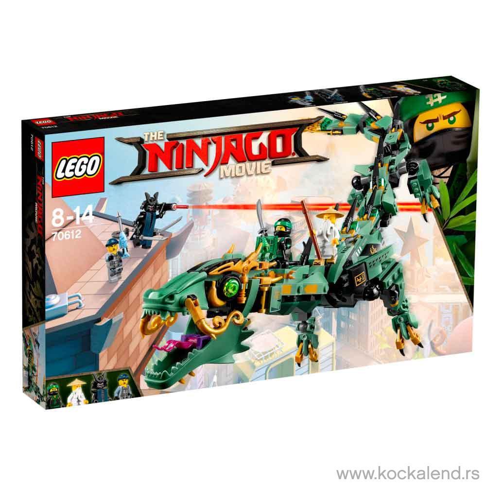 LEGO NINJAGO MOVIE GREEN NINJA MECH DRAGON