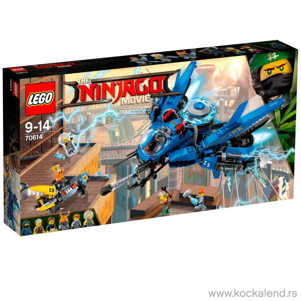 LEGO NINJAGO MOVIE LIGHTNING JET