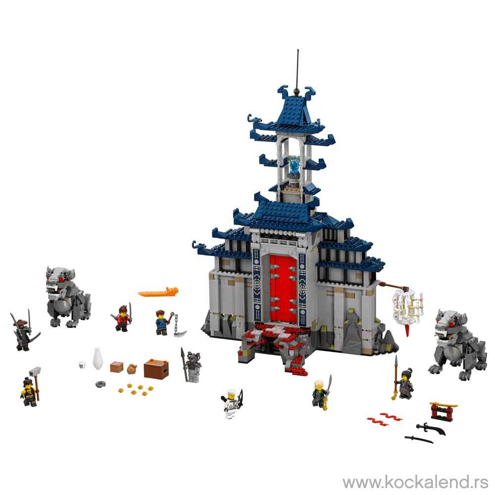 LEGO NINJAGO MOVIE TEMPLE OF THE ULTIMATE ULTIM