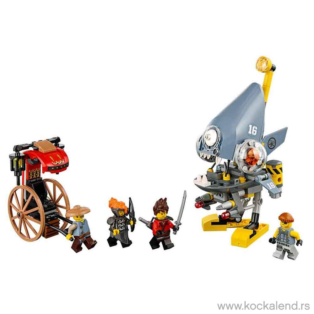 LEGO NINJAGO PIRANHA ATTACK