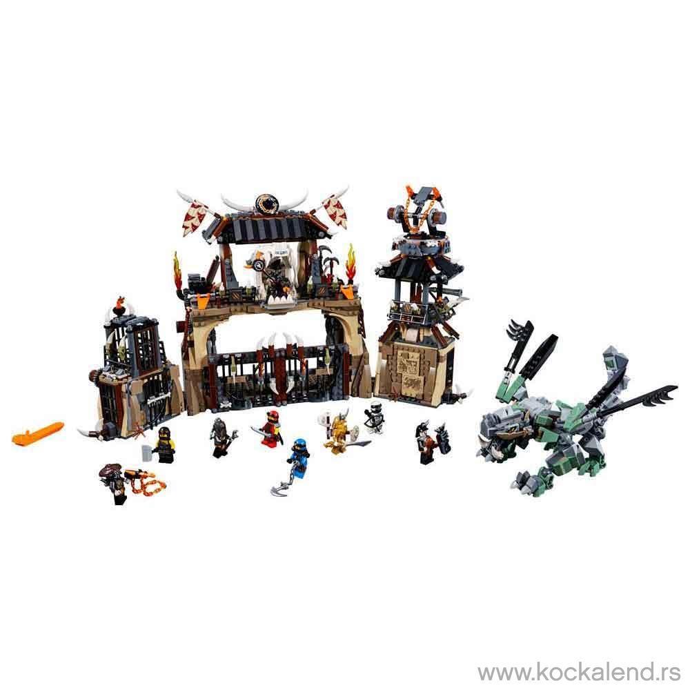 LEGO NINJAGO DRAGON PIT