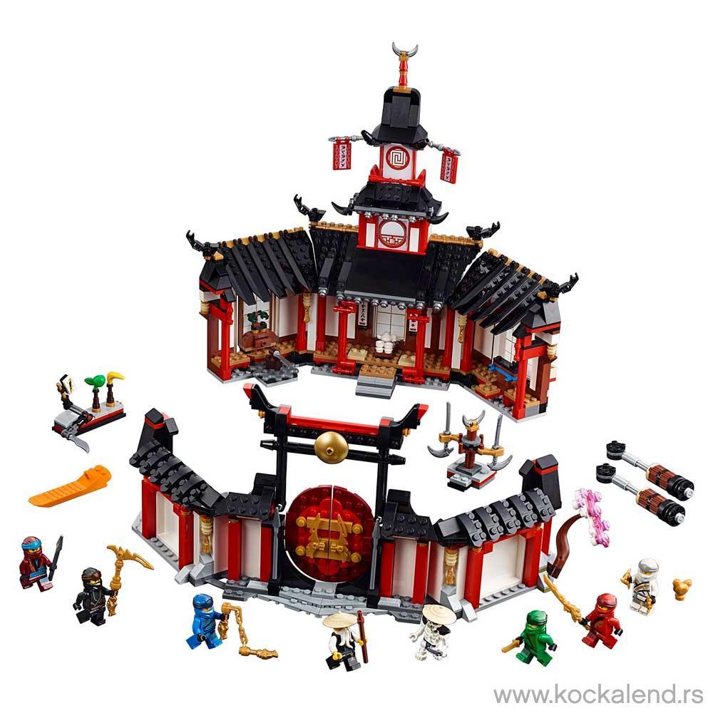 LEGO NINJAGO MONASTERY OF SPINJITZU