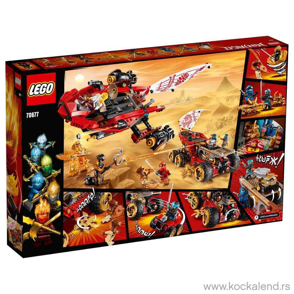 LEGO NINJAGO LAND BOUNTY LE70677   Kockalend internet ...