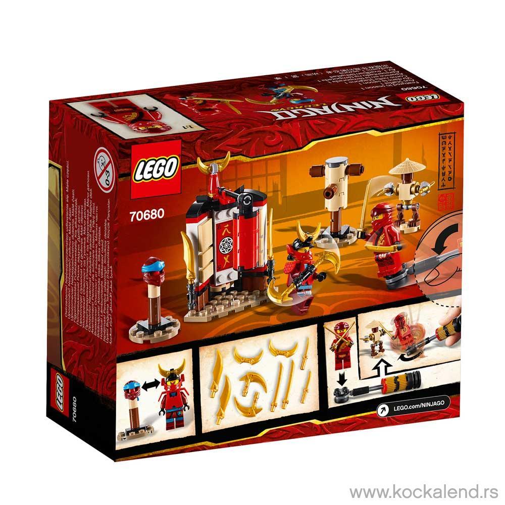 LEGO NINJAGO MONASTERY TRAINING