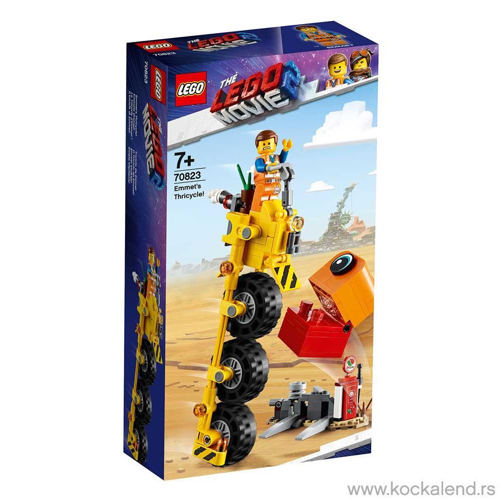 LEGO MOVIE EMMET'S THRICYCLE