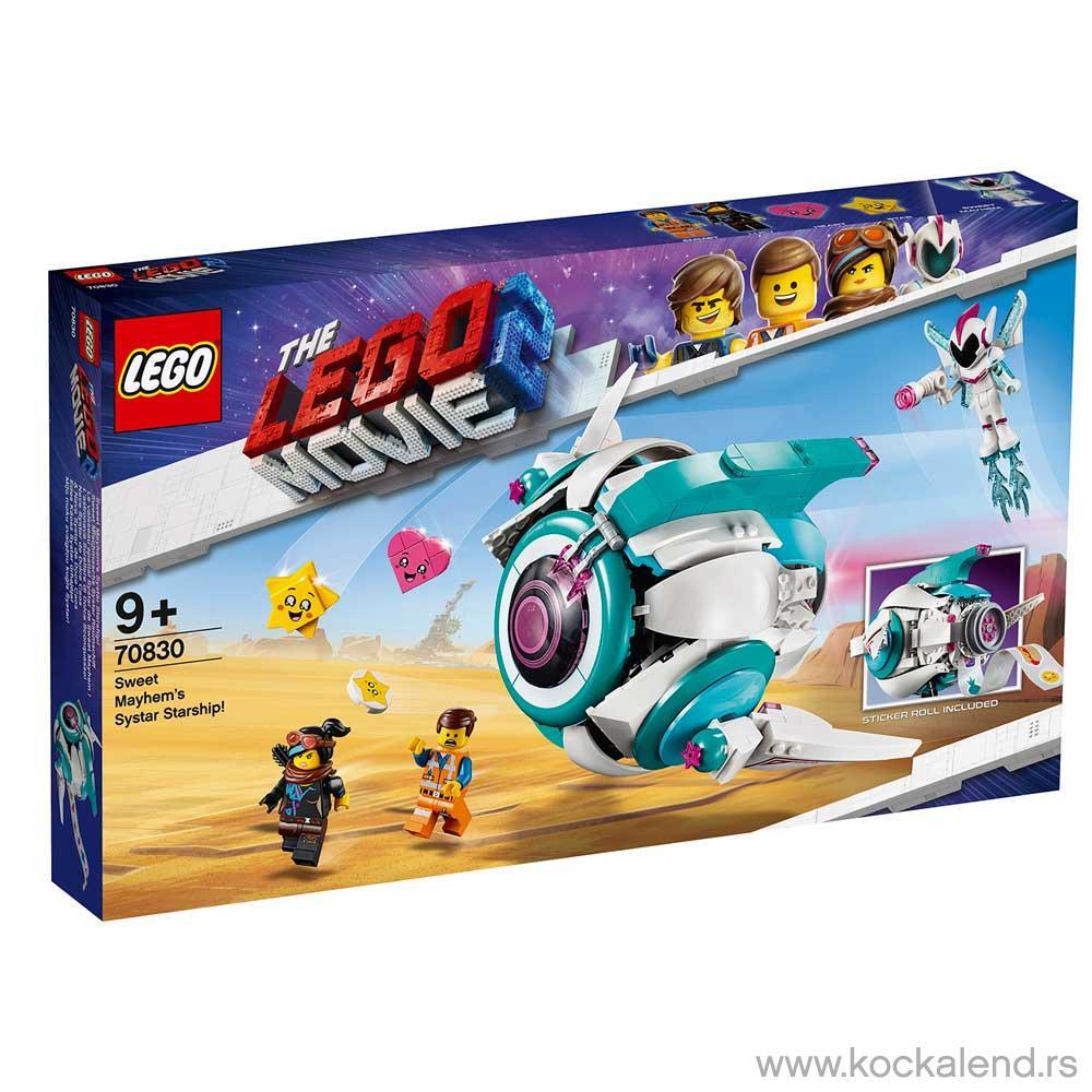 LEGO MOVIE SWEET MAYHEM'S SYSTAR STARSHIP