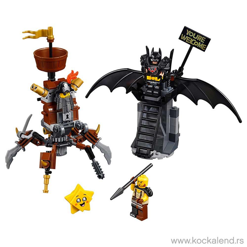 LEGO MOVIE BATTLE-READY BATMAN? AND MET