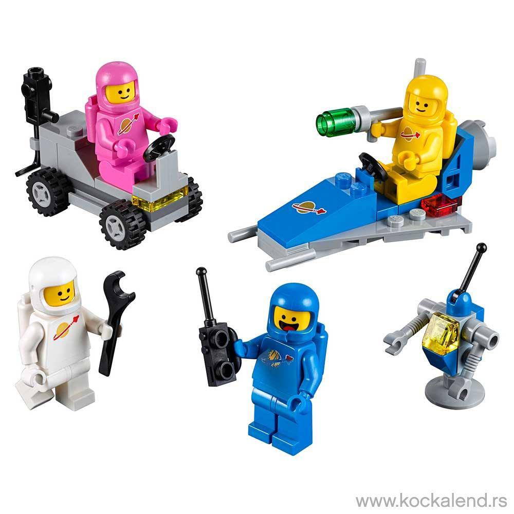 LEGO MOVIE BENNY'S SPACE SQUAD