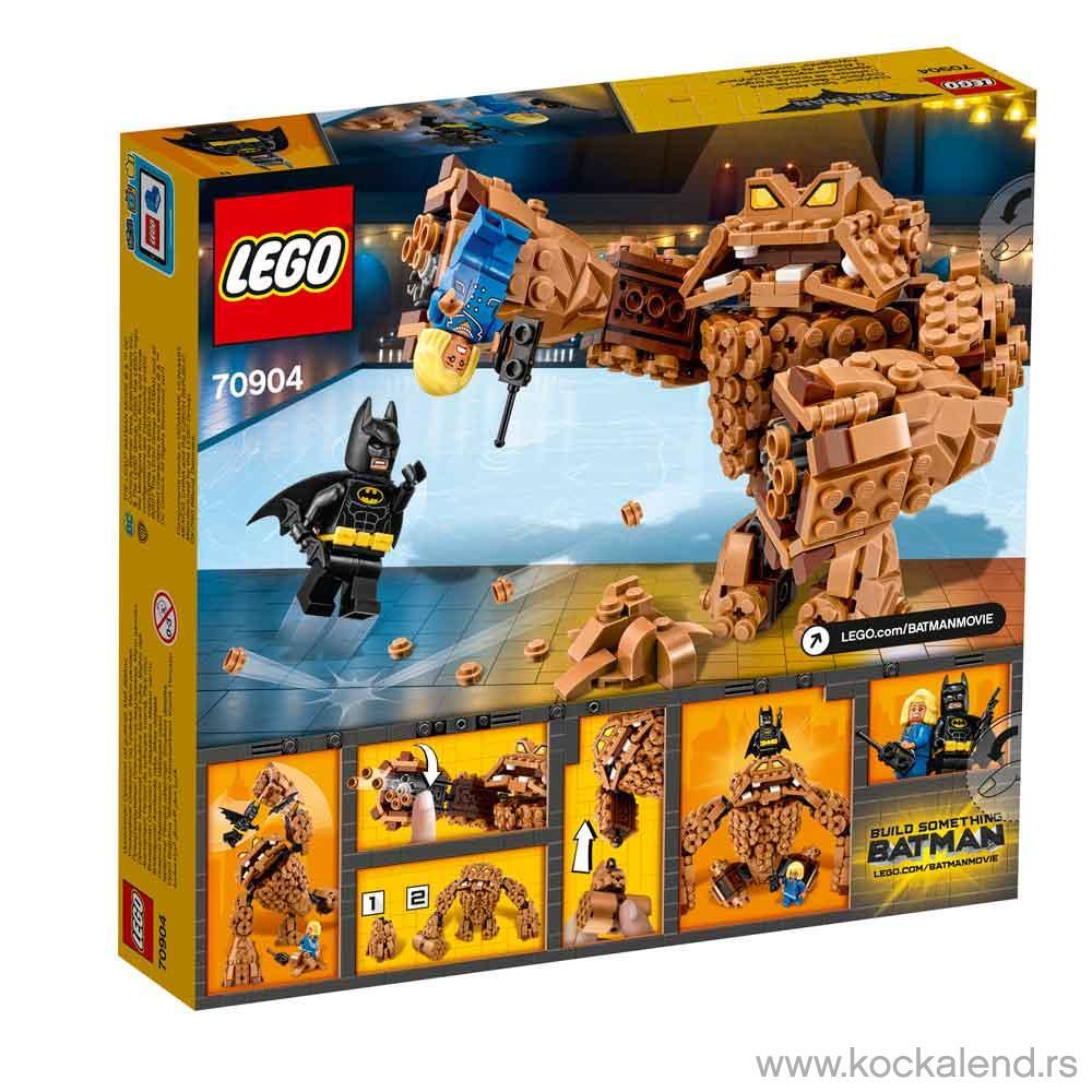 LEGO BATMAN MOVIE CLAYFACE SPLAT ATTACK