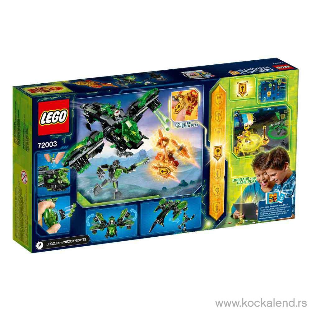 LEGO NEXO KNIGHTS BERSERKER BOMBER