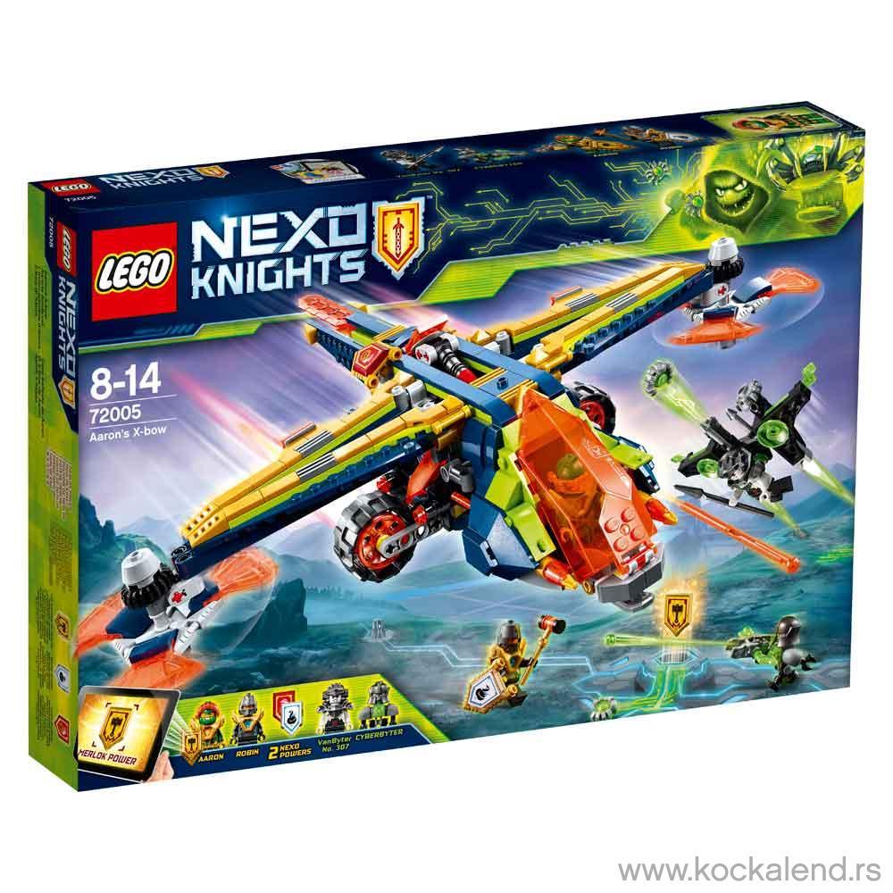 LEGO NEXO KNIGHTS KNIGHT AARONS X-BOW