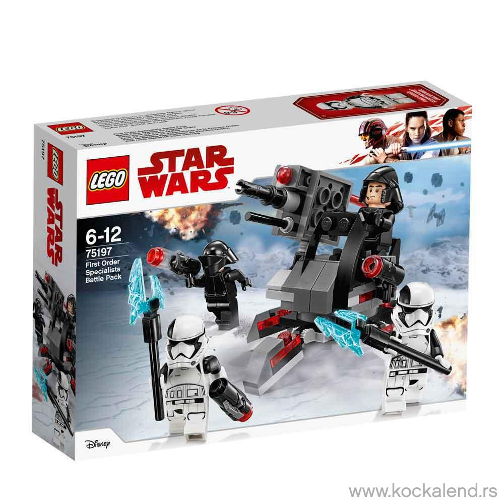 LEGO STAR WARS FIRST ORDER SPECILALIST BATTLE PACK