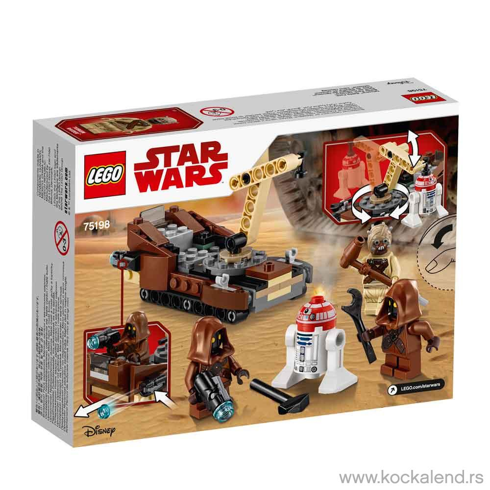 LEGO STAR WARS TATOOINE BATTLE PACK