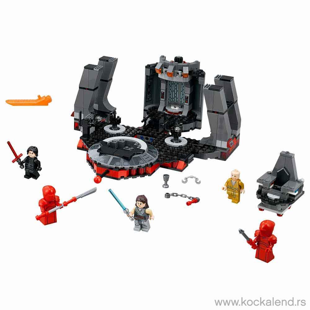 LEGO STAR WARS SNOKES THRONE ROOM