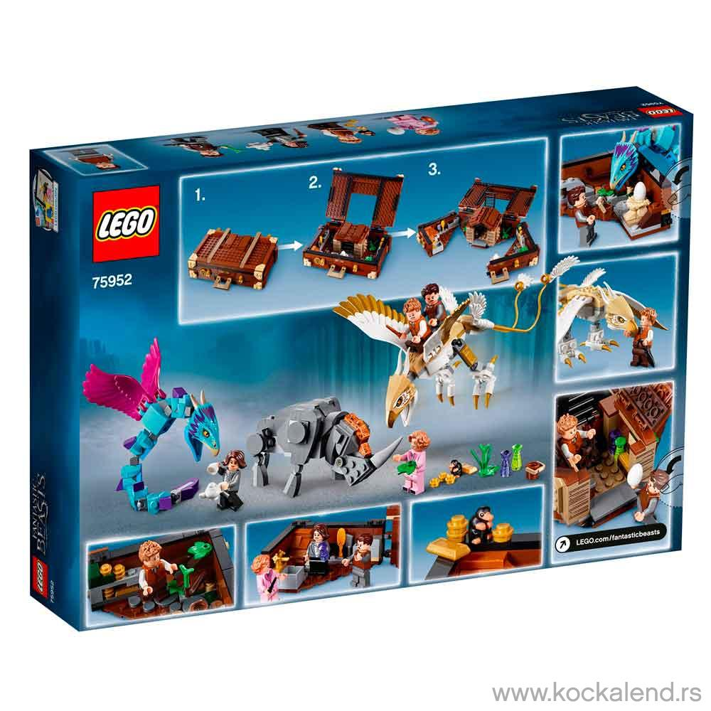 LEGO HARRY POTTER NEWT CASE OF MAGICAL CREATURES