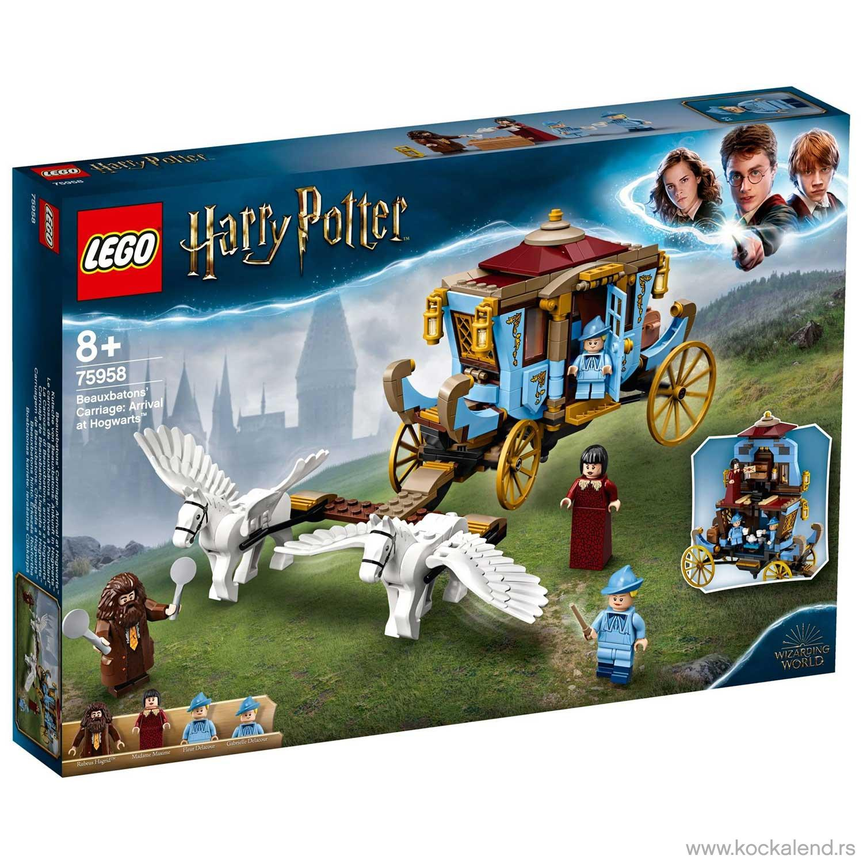 LEGO HARRY POTTER ARRIVAL AT HOGWARTS
