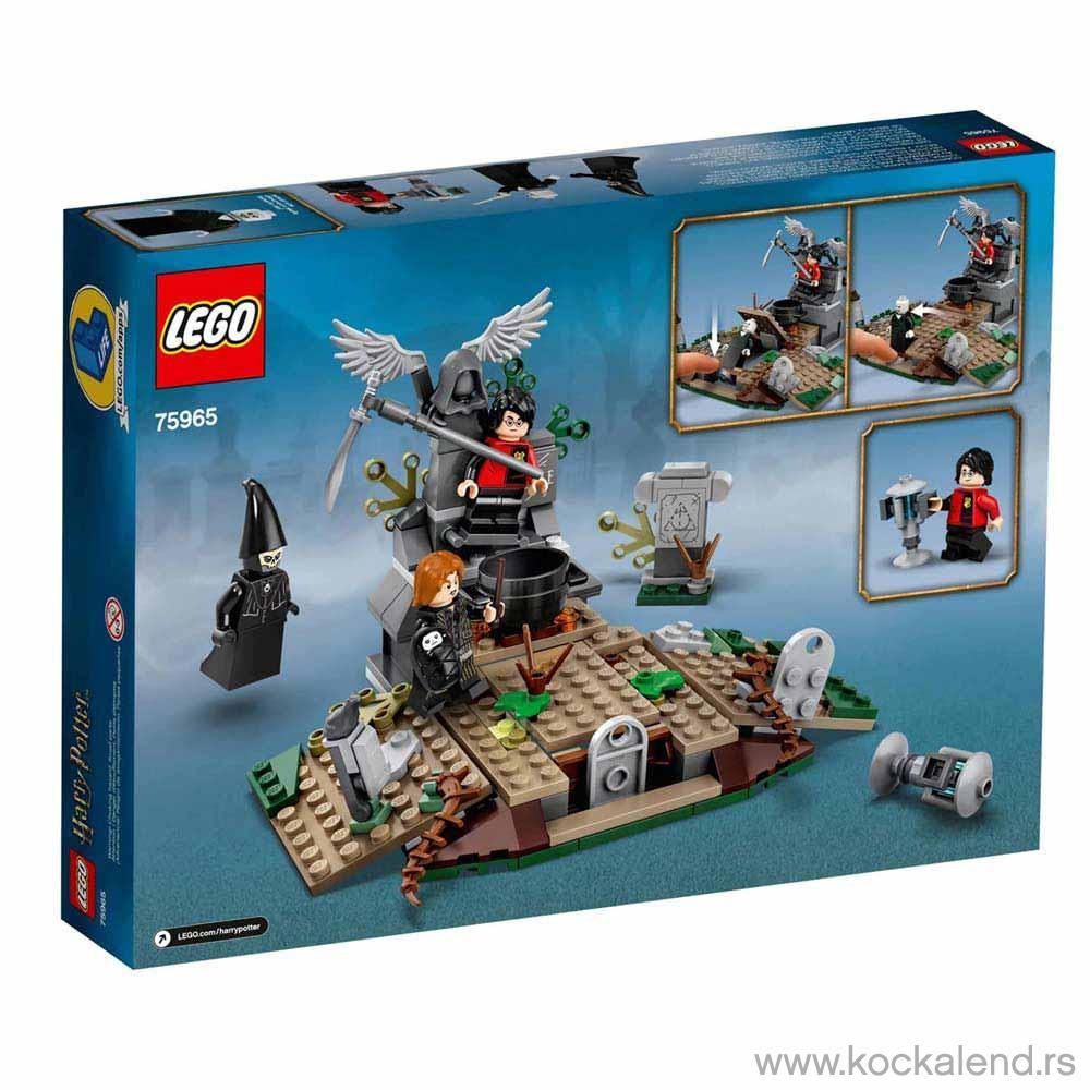 LEGO HARRY POTTER RISE OF VALDEMORT