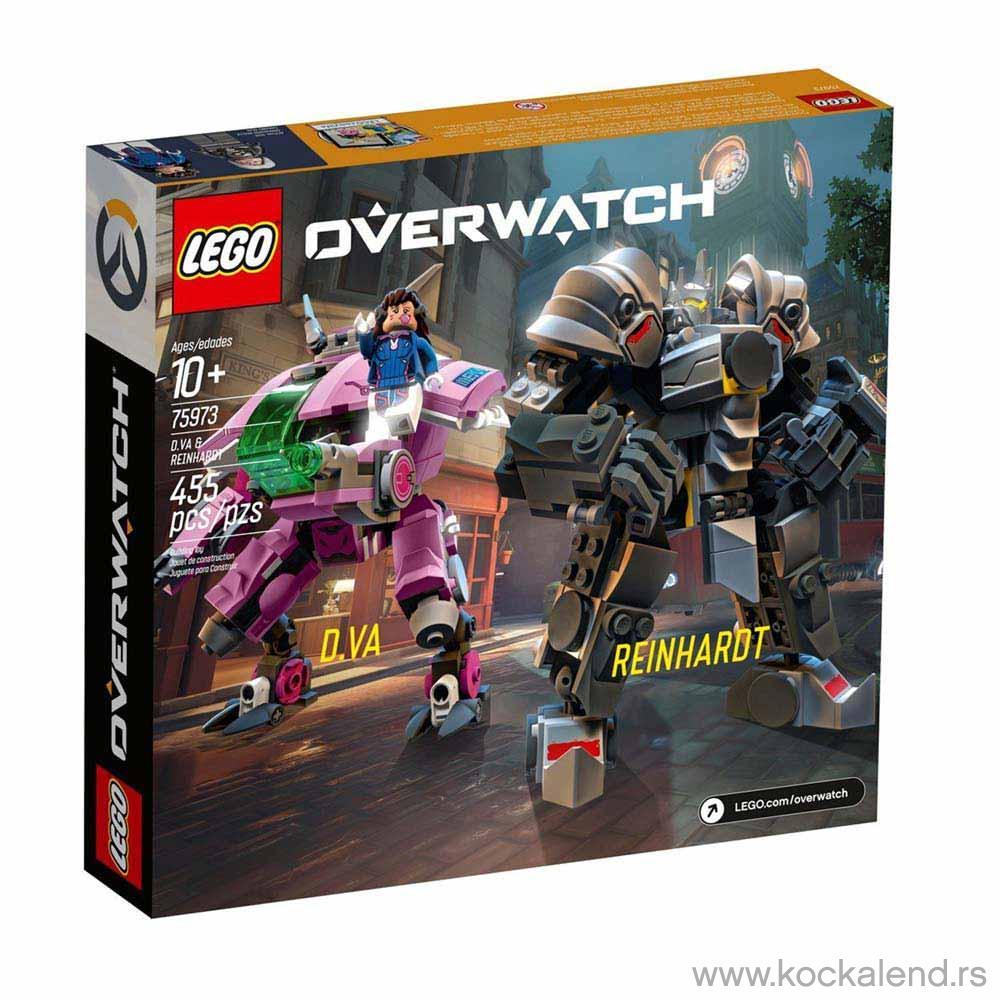 LEGO OVERWATCH D VA REINHARDT