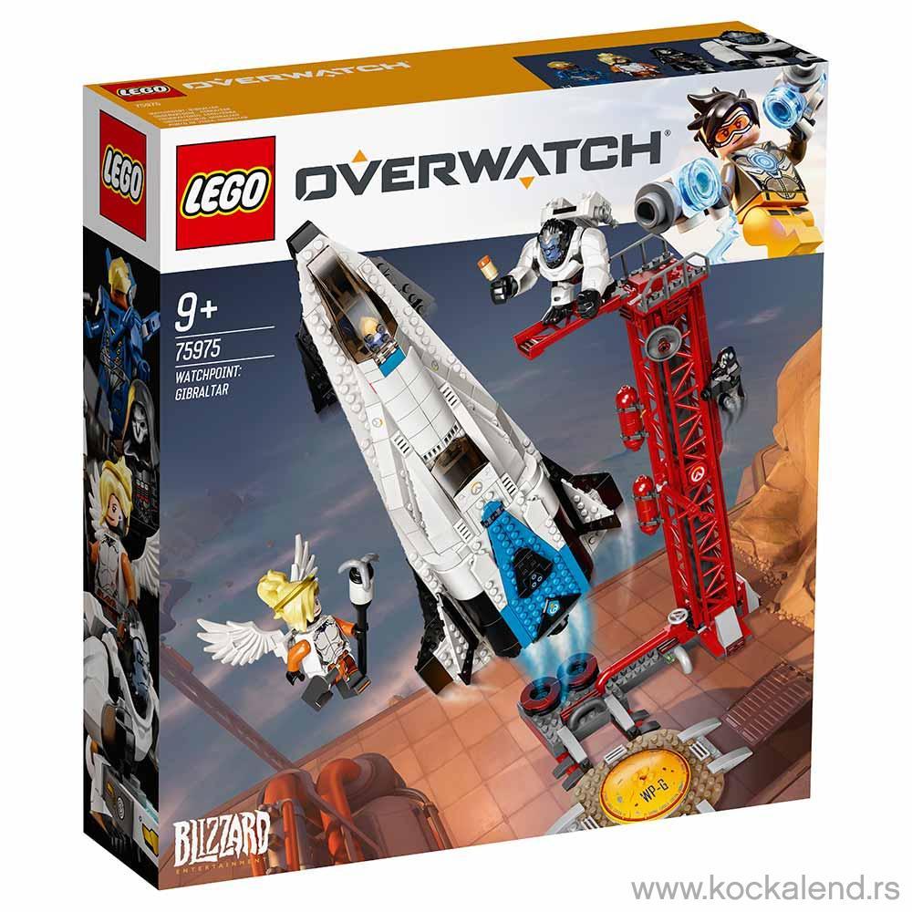 LEGO OVERWATCH WATCHPOINT GIBRALTAR
