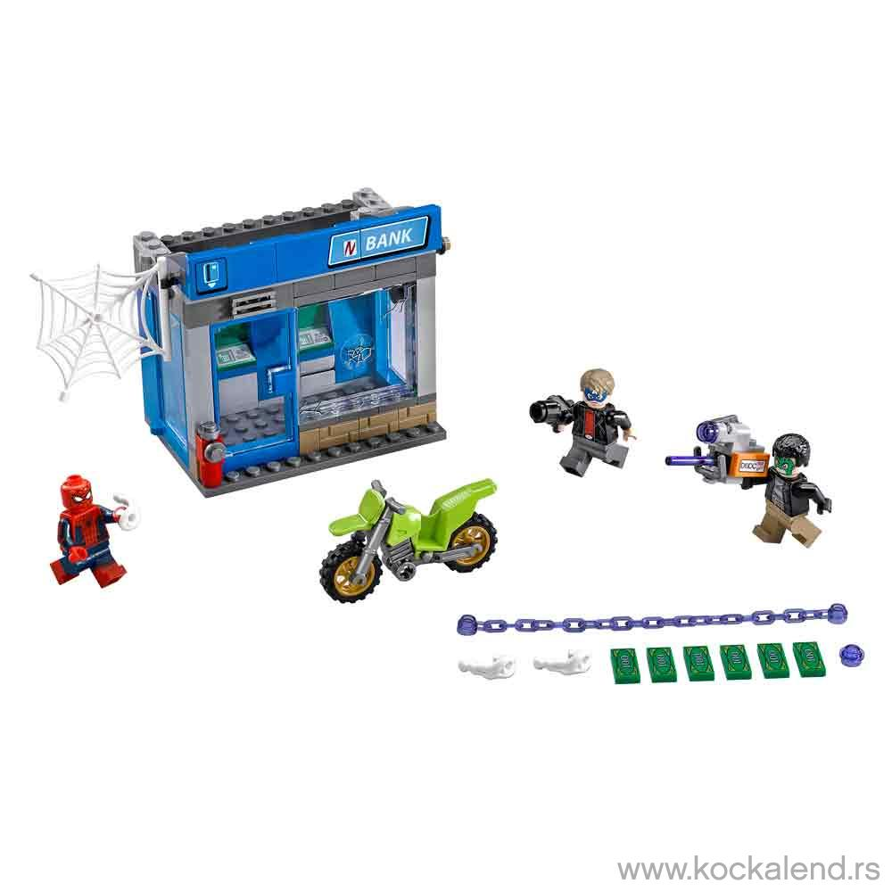 LEGO SUPER HEROES SPIDERMAN ATM HEIST BATTLE 1