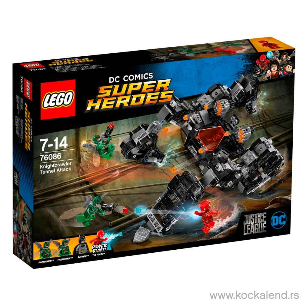 LEGO SUPER HEROES TUNNEL ATTACK
