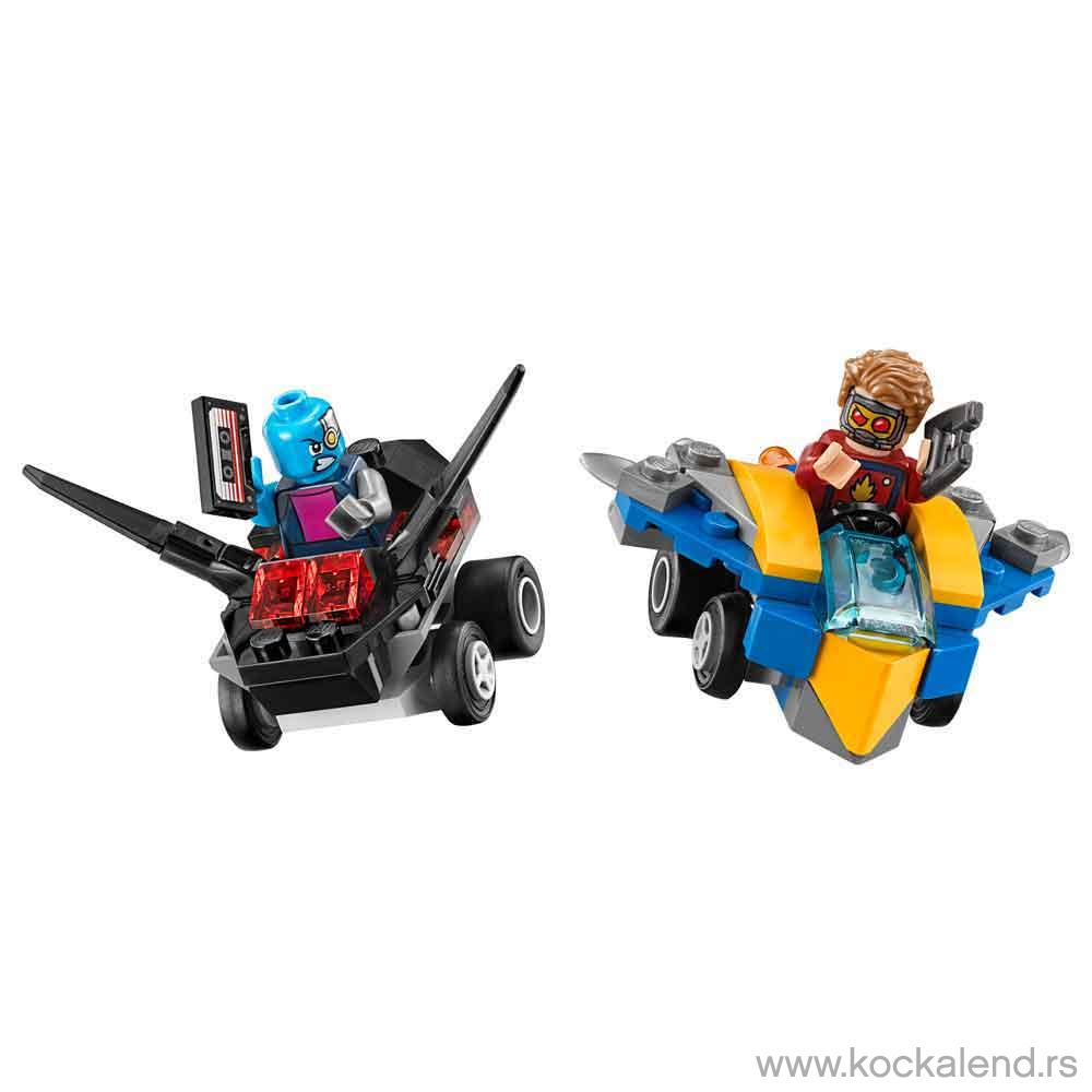 LEGO SUPER HEROES MIGHTY MICROS STAR LORD VS NEBULA