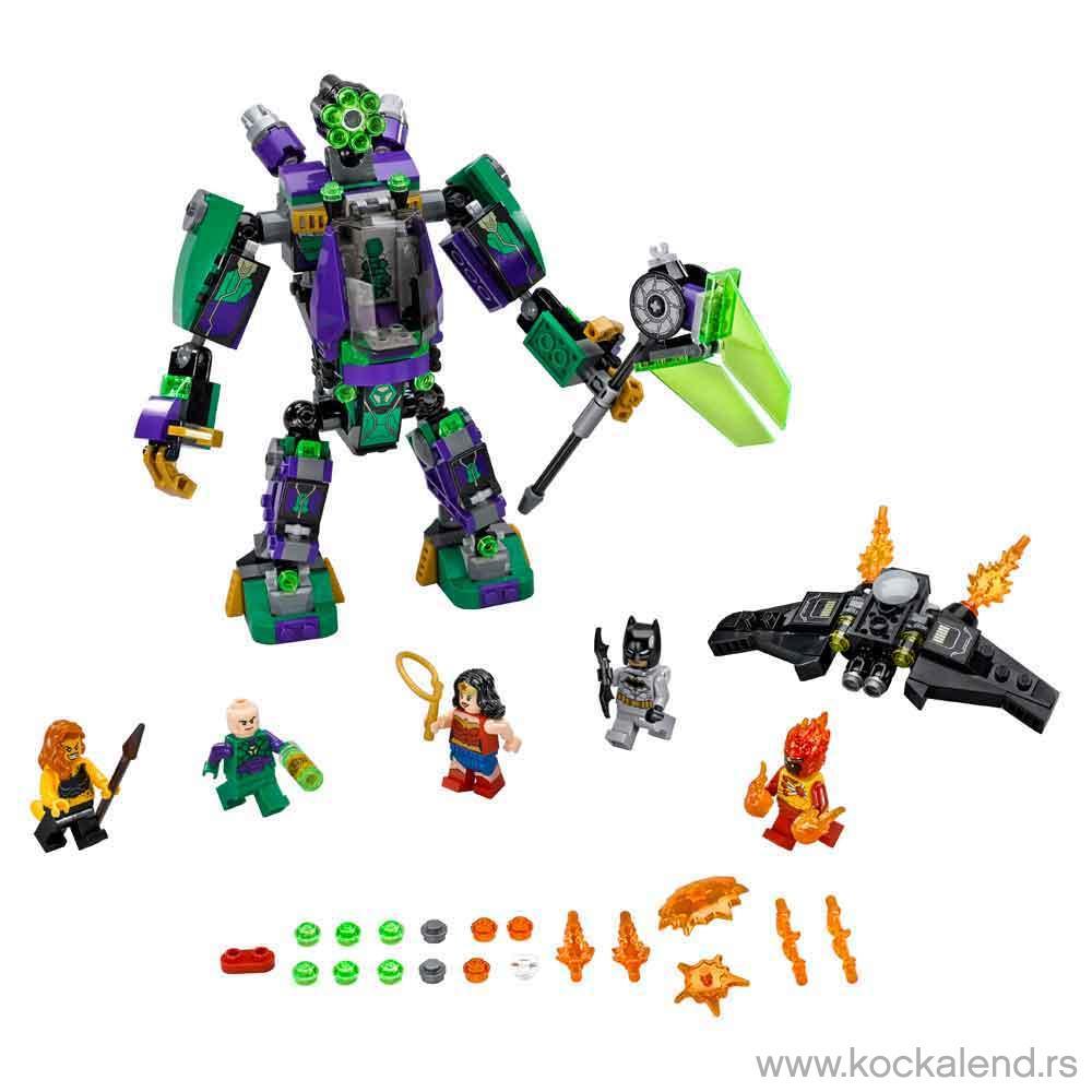 LEGO SUPER HEROES LEX LUTHOR MECH TAKEDOWN