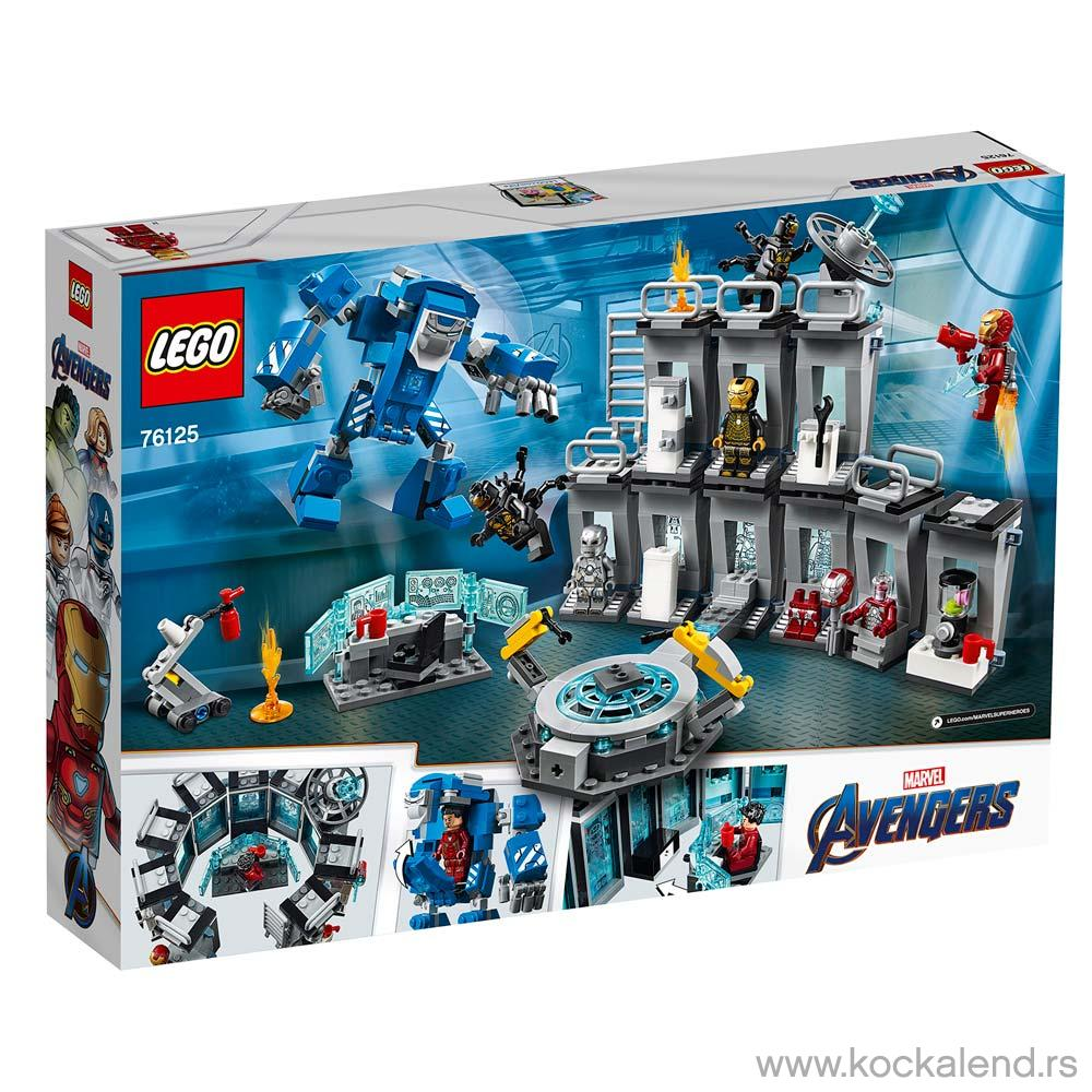 LEGO SUPER HEROES IRON MAN HALL OF ARMOR