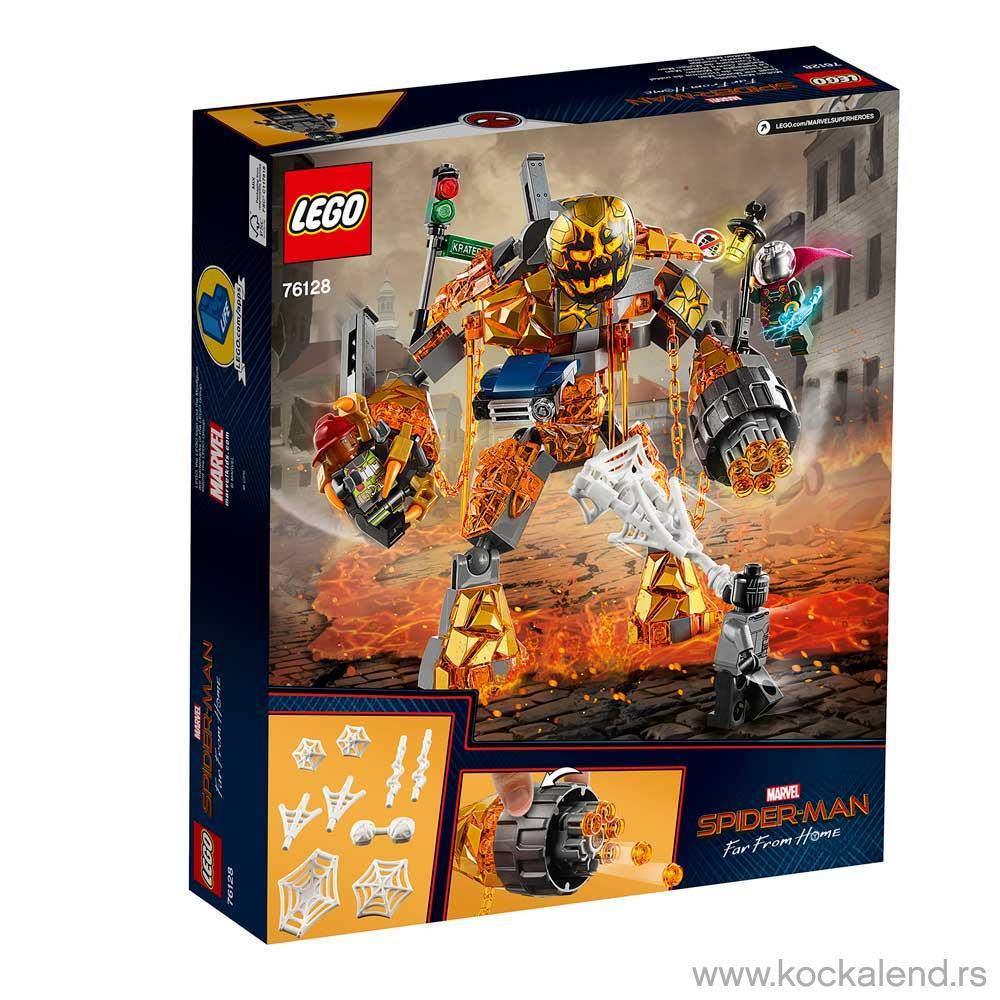 LEGO SUPER HEROES MOLTEN MAN BATTLE