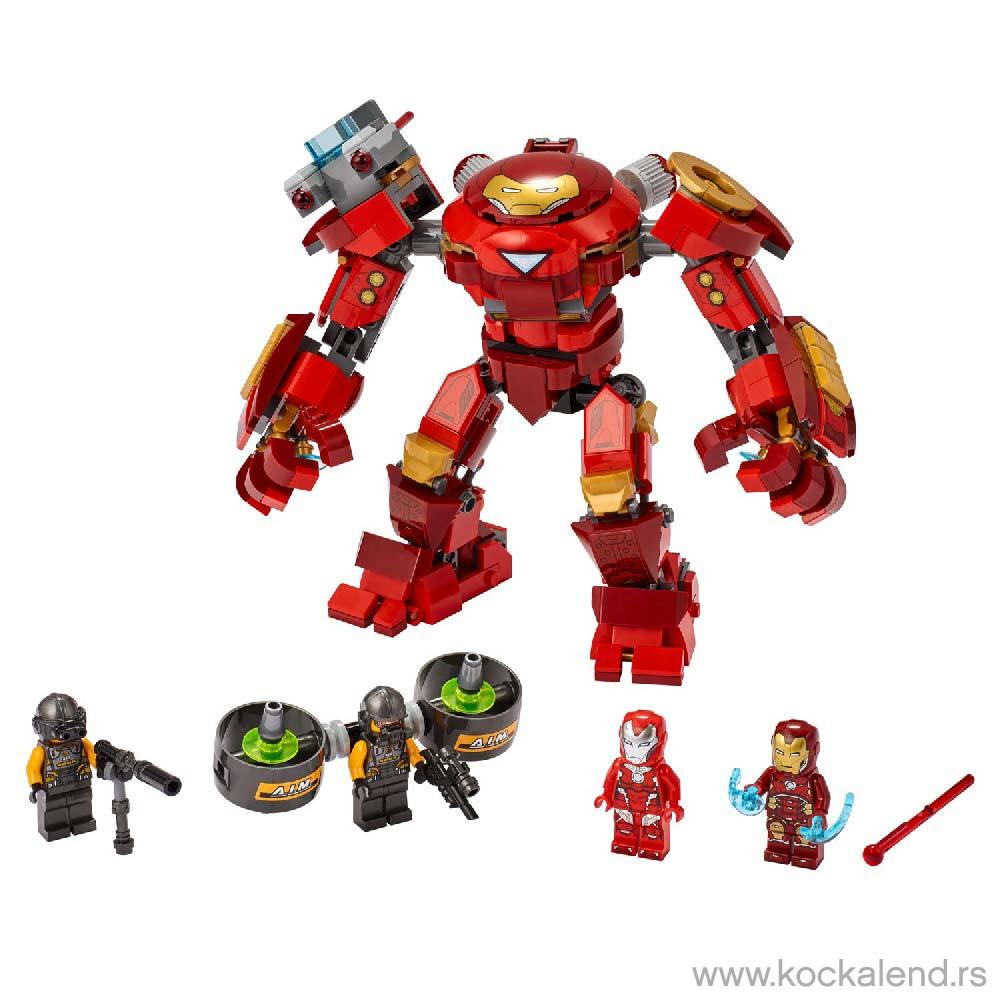 LEGO AVENGERS IRON MAN HULKBUSTER VERSUS AIM