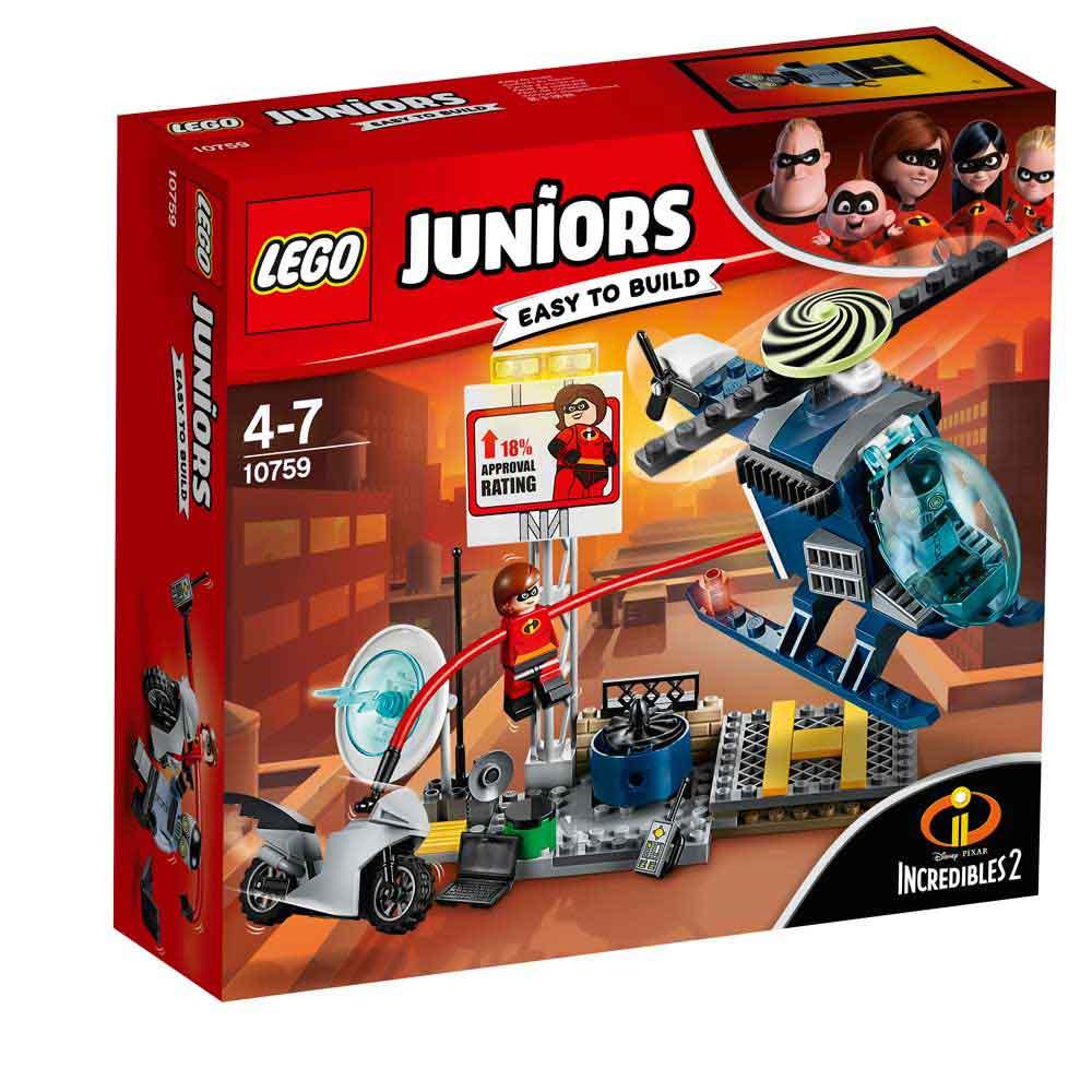LEGO JUNIORS ELASTIGIRL S ROOFTOP PURSUIT