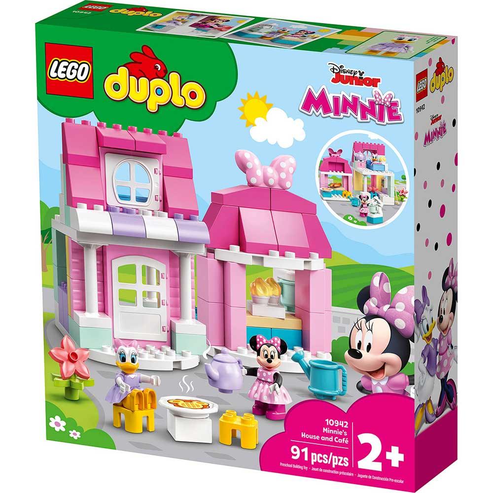 LEGO DUPLO DISNEY TM MINNIE'S HOUSE AND CAFÉ