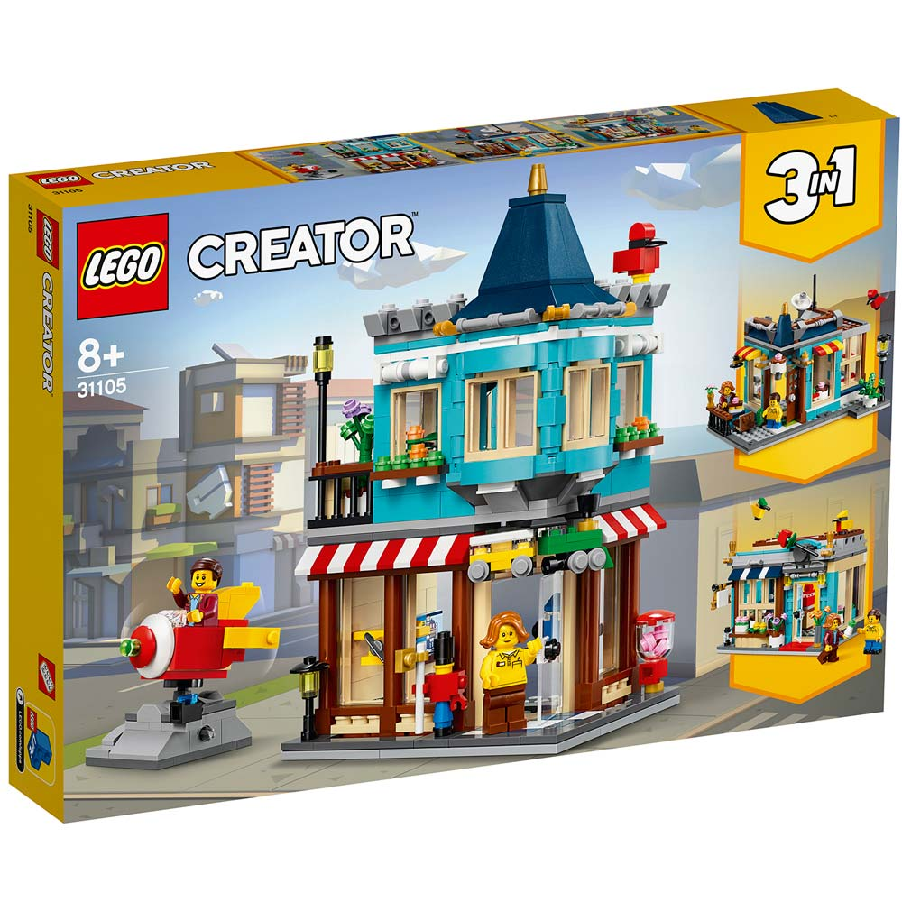LEGO CREATOR TOWNHOUSE TOY STORE