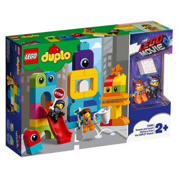 LEGO DUPLO EMMET AND LUCY S VISITORS