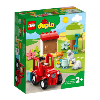LEGO DUPLO TOWN FARM TRACTOR & ANIMAL CARE