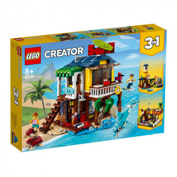 LEGO CREATOR SURFER BEACH HOUSE