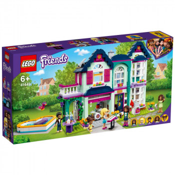 LEGO FRIENDS ANDREAS FAMILY HOUSE